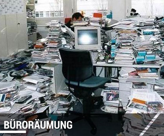 Büroauflösung