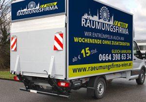 Räumungsfirma Wien
